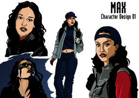 Max 01 character design by deanfenechanimations