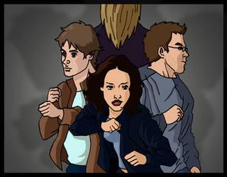 Dark Angel Cartoon Frame 3.003 by deanfenechanimations
