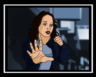 Dark Angel Cartoon Frame 3.036