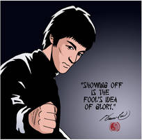 Bruce Lee 2 by deanfenechanimations