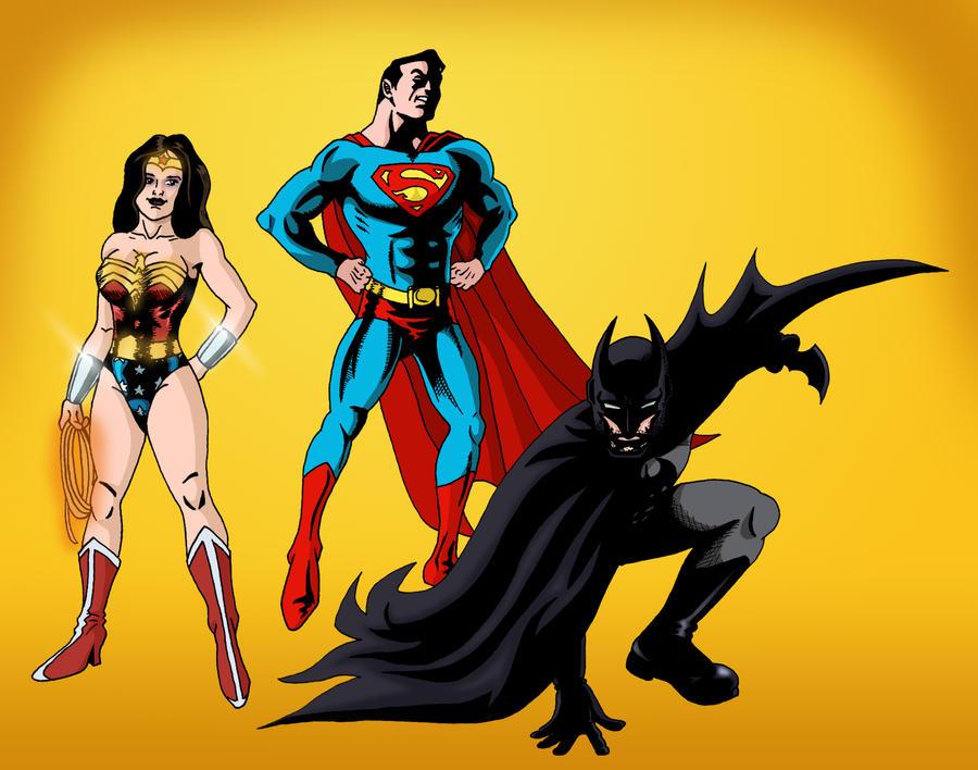 Super Friends by deanfenechanimations