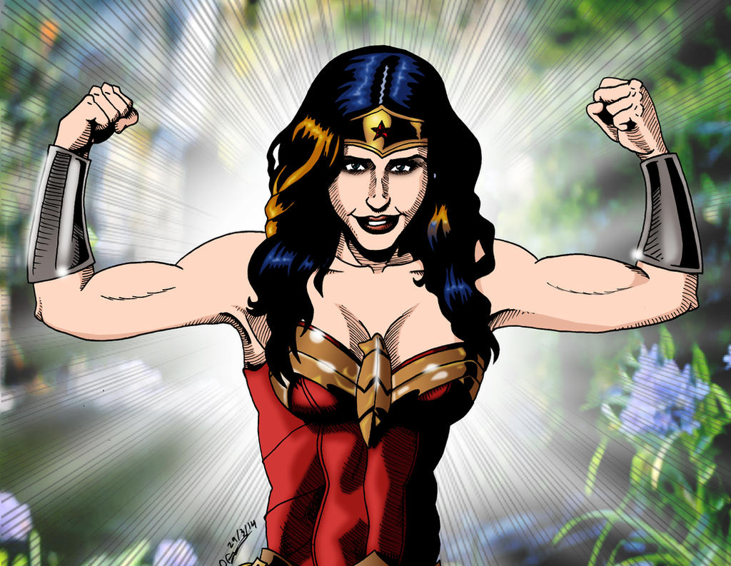 Wonder Woman ROAR by deanfenechanimations