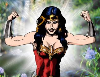 Wonder Woman ROAR by deanfenechanimations