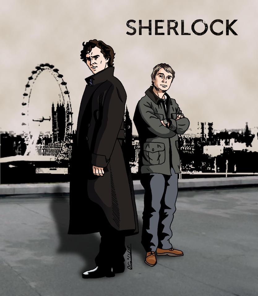 Sherlock by deanfenechanimations