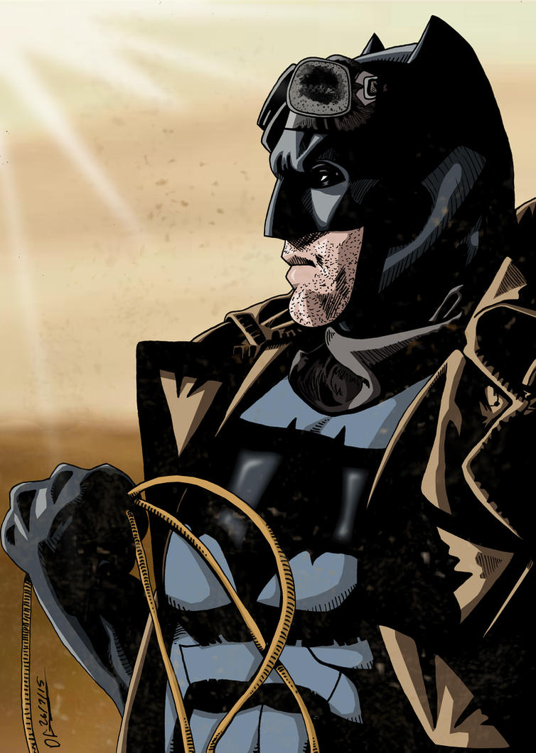 Desert Batman by deanfenechanimations