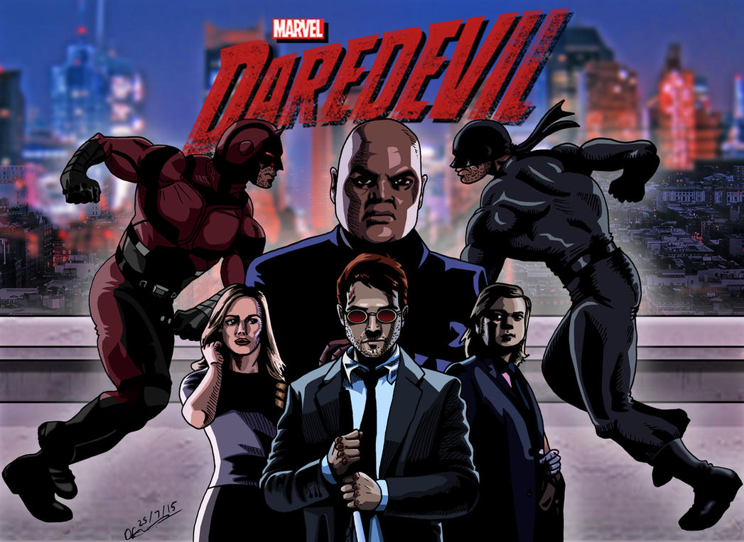 Daredevil by deanfenechanimations