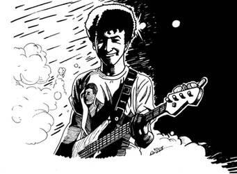 John Deacon by deanfenechanimations