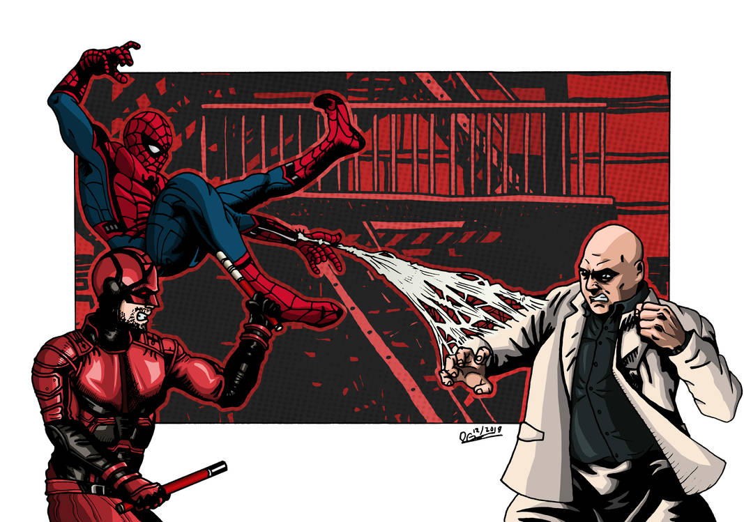Team Red vs team White by deanfenechanimations