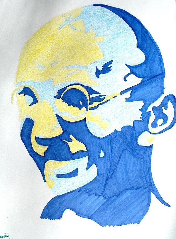 Gandhi by 8270037