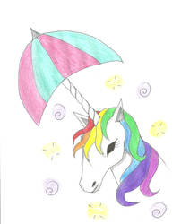 Magical Rainbow Umbrellahorn