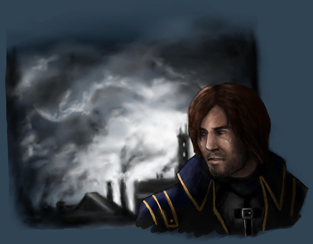 Corvo Attano by SebastChan010