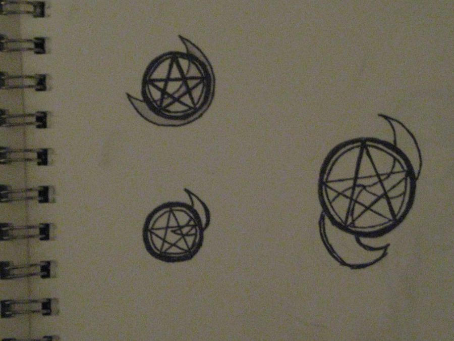 tattoo pentagram designs by truealaso on deviantart. Black Bedroom Furniture Sets. Home Design Ideas