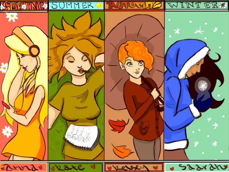 Seasons by oo-irish-oo