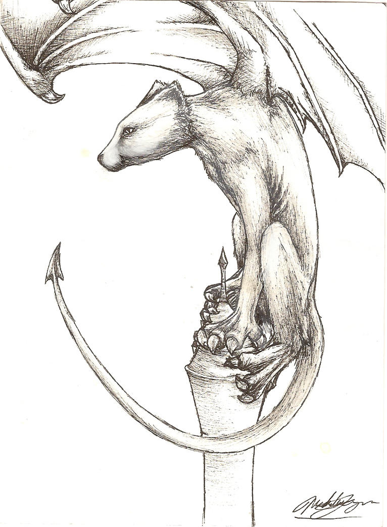 Gargoyle? by the-lazy-artist