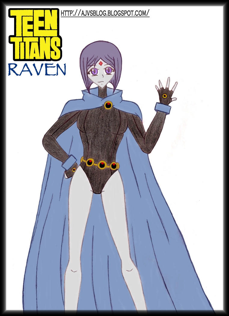 Teen Titans Raven -2010- By Ajv7 On Deviantart-5885