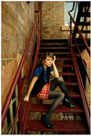 On Stairs