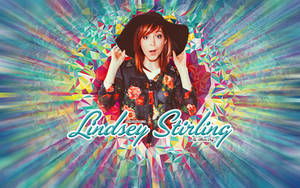 Lindsey Stirling_Wallpaper_Colour by juztkiwi
