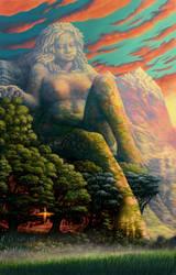 Earth Goddess by tonyhough