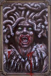 Medusa the Gorgon by tonyhough