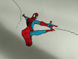 Spider-Man step 1