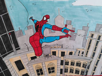 spider-man step 2 : buildings