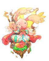 Magic rabbit by jengslizer