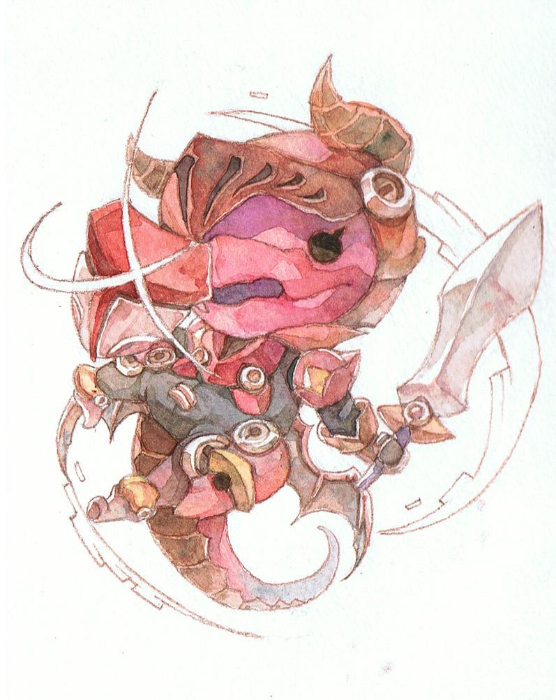 Dragon by jengslizer