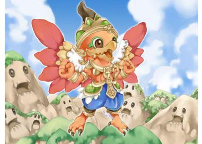 Little Garuda by jengslizer