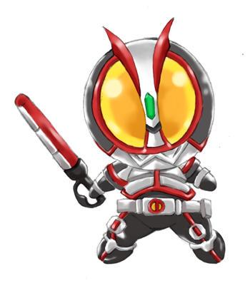 Kamen Rider on Kamen Rider 555