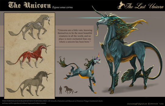 The Last Unicorn - Unicorn