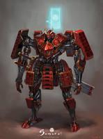 Samurai - Mechanical Samurai Tokugawa Unit