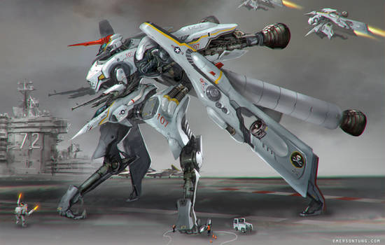 Mecha Jet Fighter - CONDOR