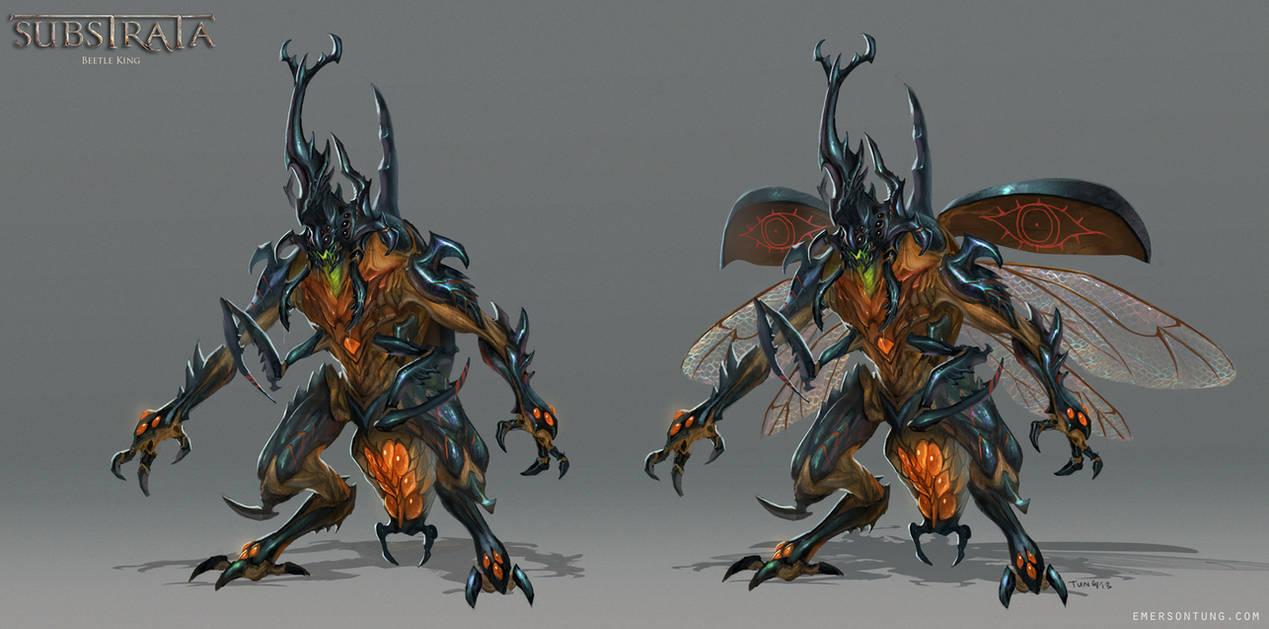 monster hunter world king beetle