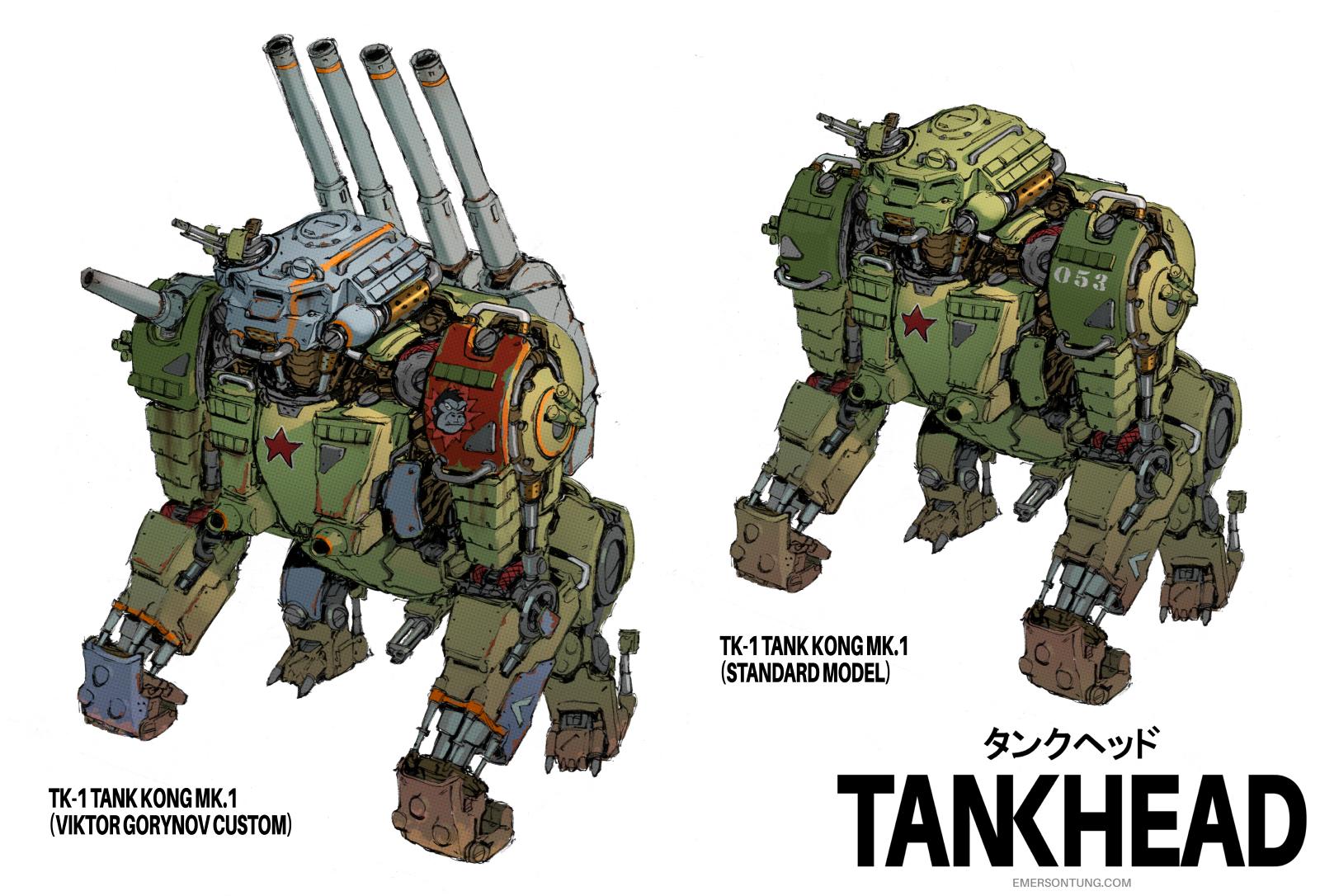 TankHead -  TankKong by emersontung