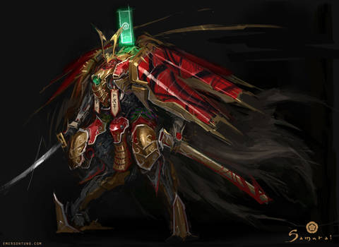 Samurai - Mechanical Samurai Nobunaga Unit