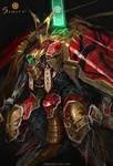 Mechanical Samurai Nobunaga - Closeup
