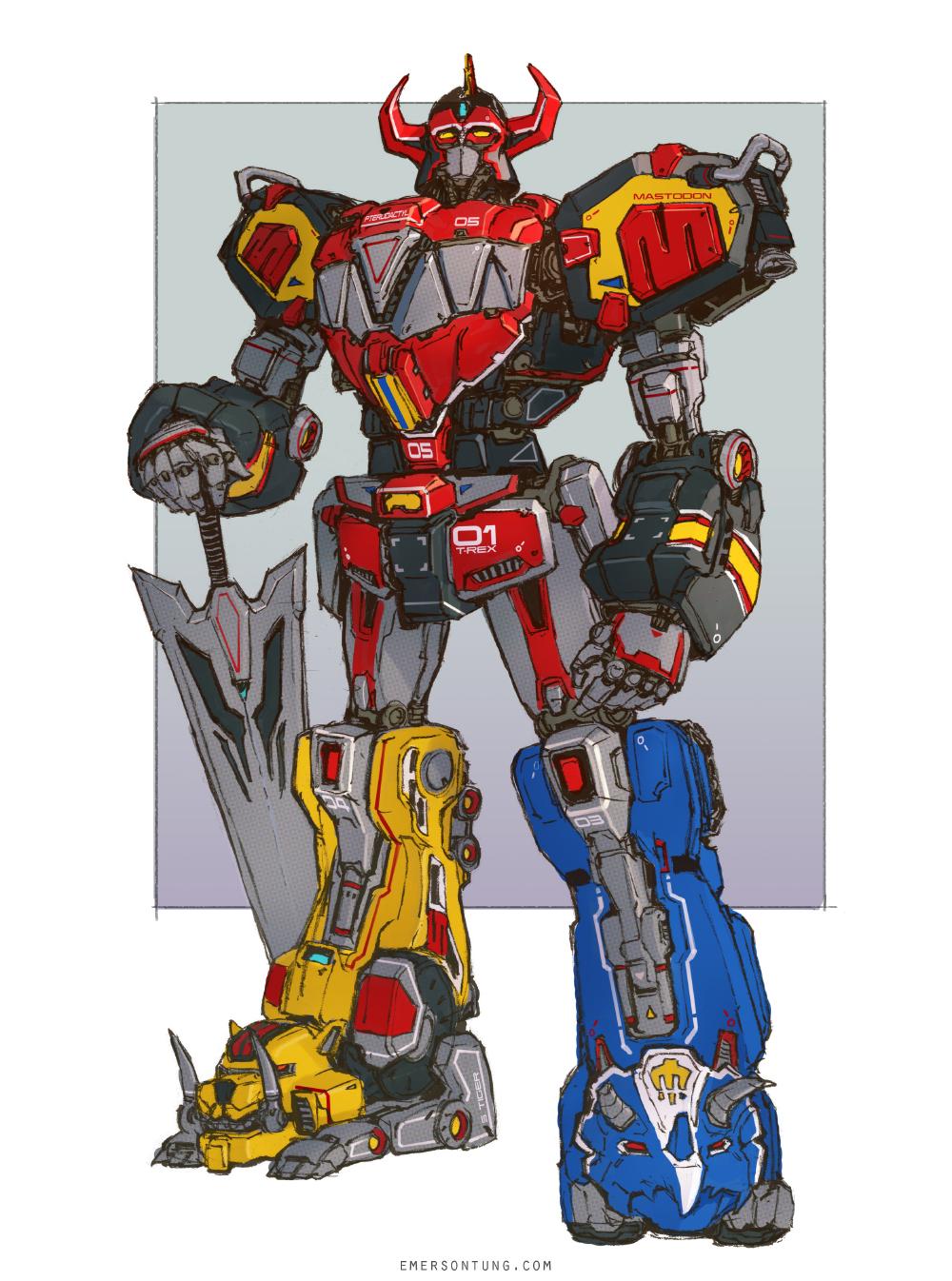 Zords Toys 29