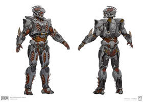 DOOM - MP Cyberdemonic Set by emersontung