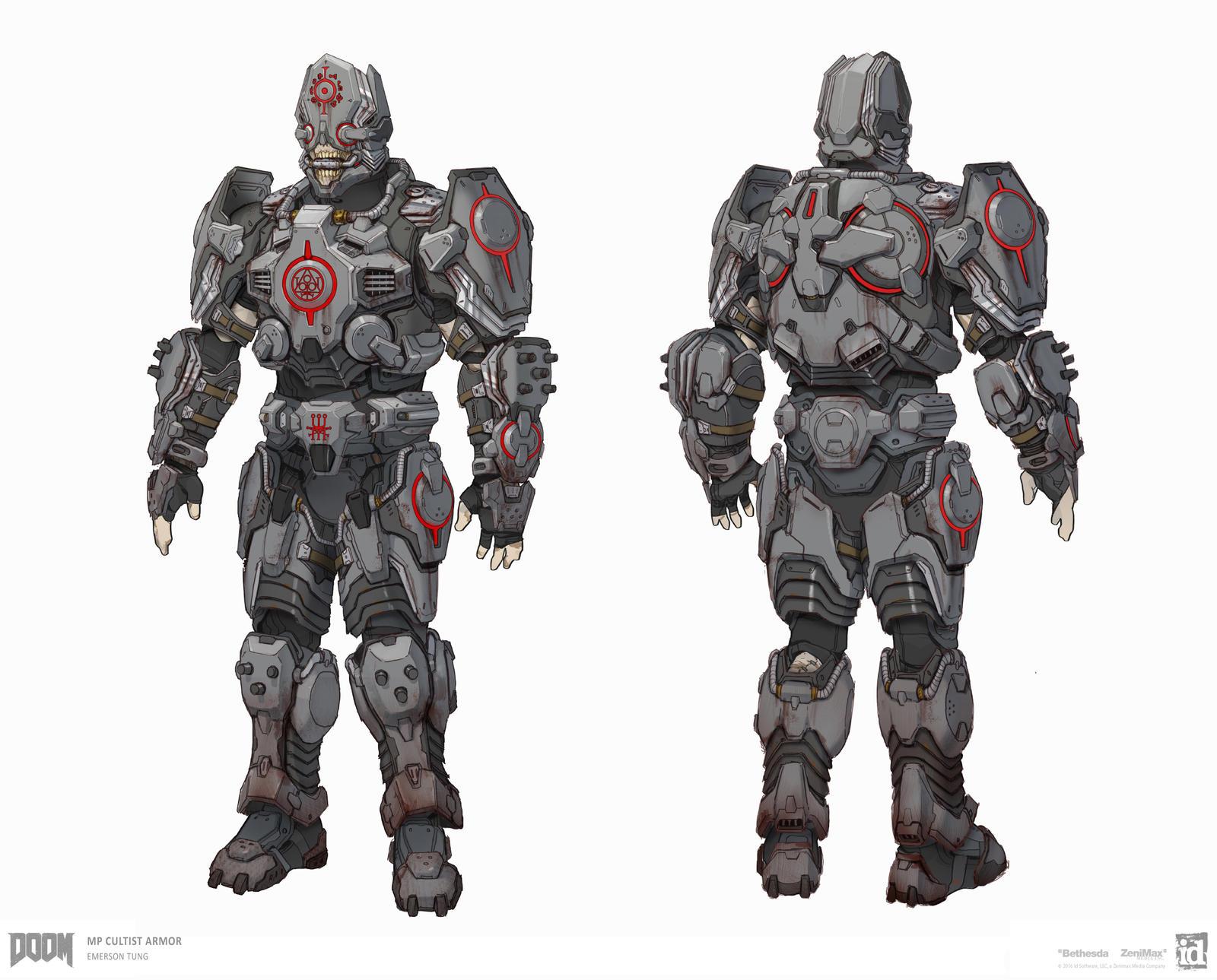 DOOM - MP Cultist Armor Set