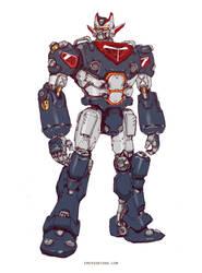 Super Robot Grandion by emersontung
