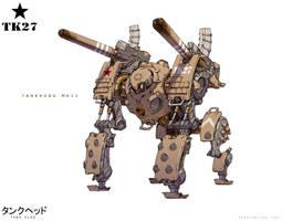 TankHead - TankKong Mk. II by emersontung