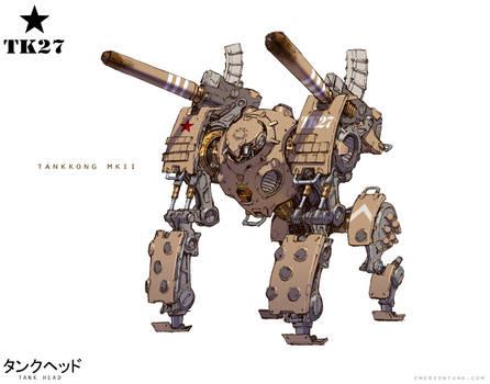 TankHead - TankKong Mk. II