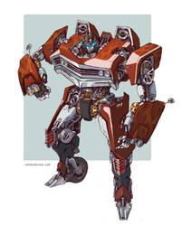 Transformers - 76' El Camino