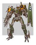 Transformers - Jetfire B25 Bomber