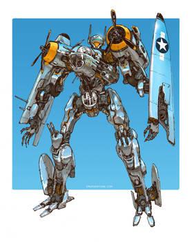 Transformers - Jetfire B25 Bomber Variant