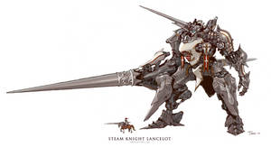 Steam Knight Lancelot by emersontung