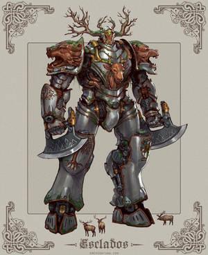 Steam Knight Esclados