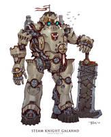 Steam Knight Galahad by emersontung