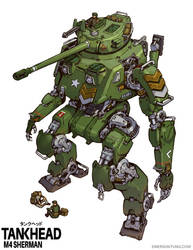 Tankhead Sherman Color