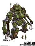 Sherman Mineflayer Tankhead